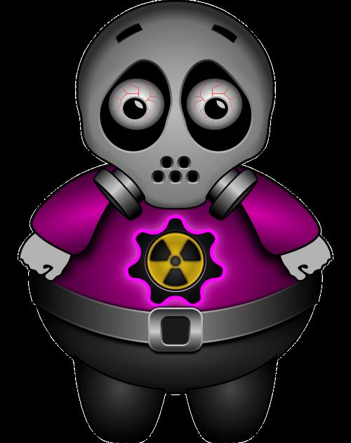 alien sad gas mask