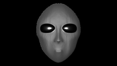 alien head sci fi