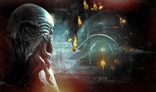 alien composing nature