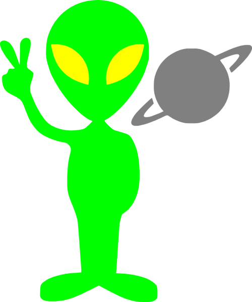 alien martian saturn