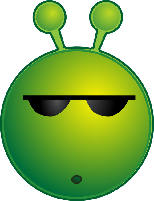 alien cool sunglasses