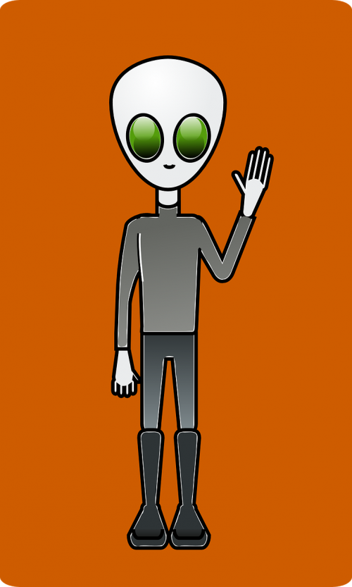 alien dude space