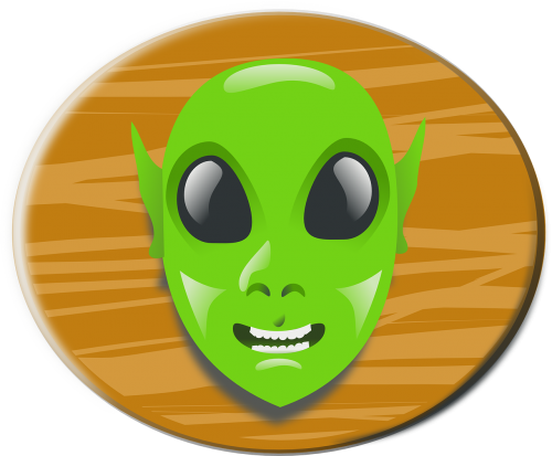 alien head cartoon