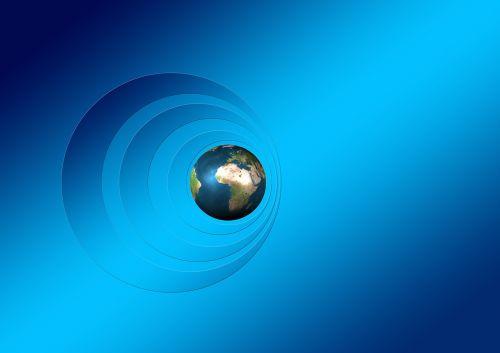 all earth globe