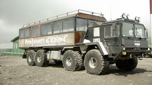 visureigė transporto priemonė,iceland,sunkvežimis,ledynai