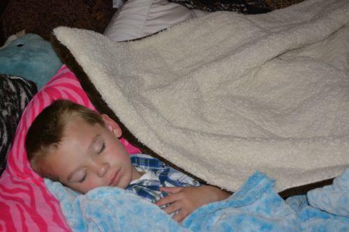 All Tucked In Child Sleep Nap Peace