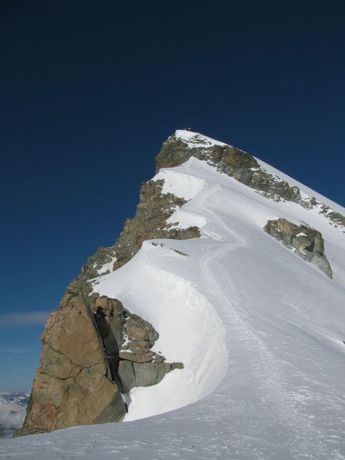 allalinhorn four thousands hohlaubgrat ridge