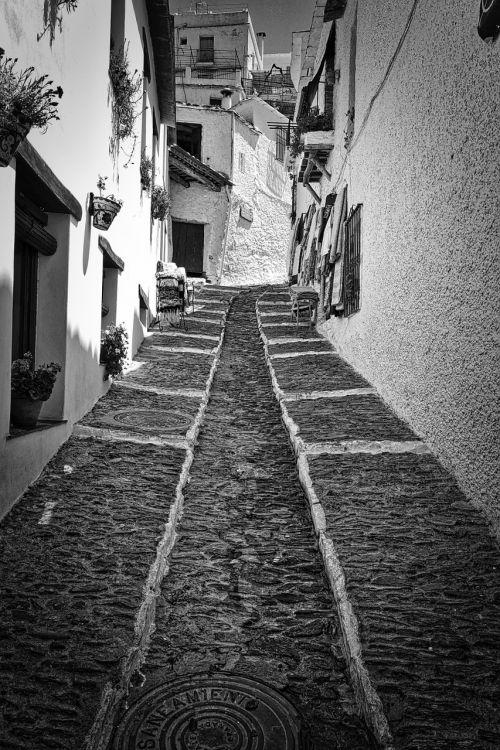 alley cobblestone design