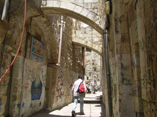 Alley In Jerusalem