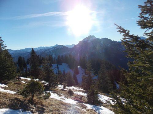 allgäu mountains view
