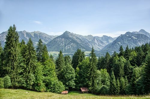 allgäu oberstdorf mountains