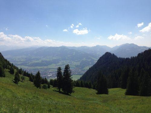 allgäu alpine castle hill
