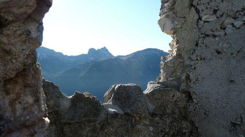 allgäu castle falkenstein wall
