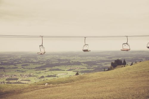 allgäu winter sports ski lift