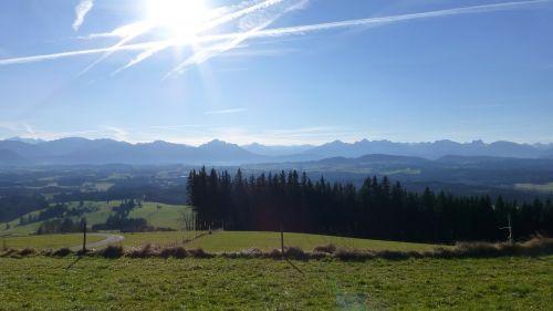 allgäu panorama mountains