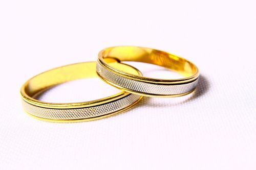 alliances bodas silver wedding