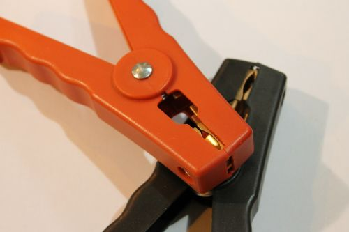 alligator terminals clamp