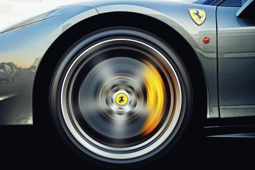 alloy wheel  ferrari  automotive