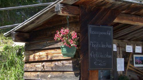 alm hut alpine hut