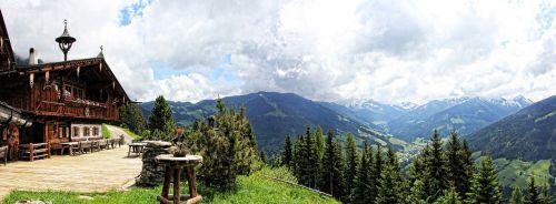 alm mountains austria