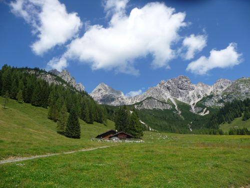 alm salzburger land mountain hut