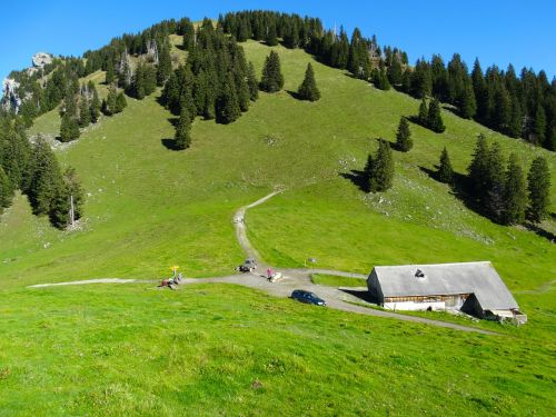 alm alpine hut bergalp