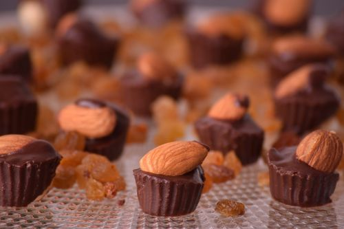 almond almond chocolate chocolates