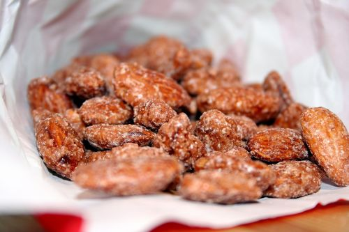 almond salted snack