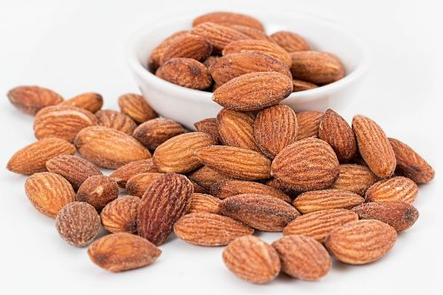 almonds nuts roasted