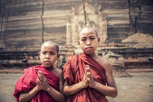 boy monks i pray