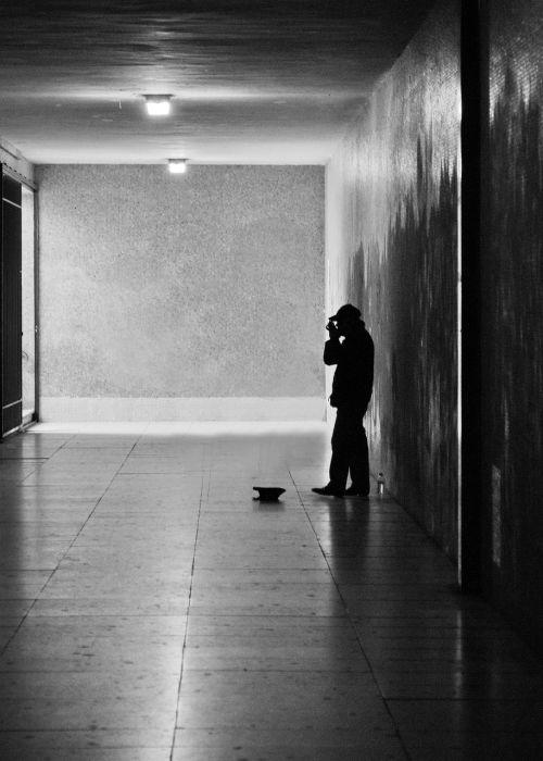 alone musician listen