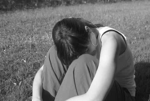 alone girl woman