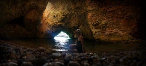 Alone In A Grotto