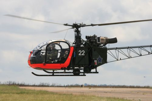 sraigtasparnis, aluette & nbsp, ll, dayglo & nbsp, tamsus & nbsp, alyvuogių aliejus, Pietų & nbsp, Afrikos & nbsp, oro & nbsp, jėgos & nbsp, muziejus, skraidantis, paveldas, aluette ii sraigtasparnis žemas flypastas