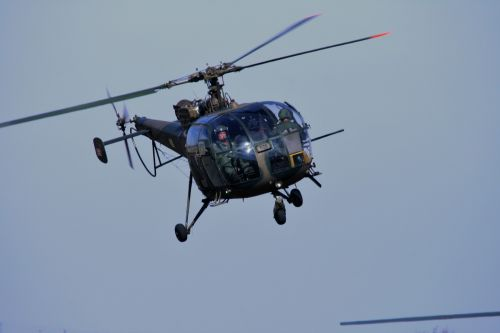 Alouette Iii Coming In To Land
