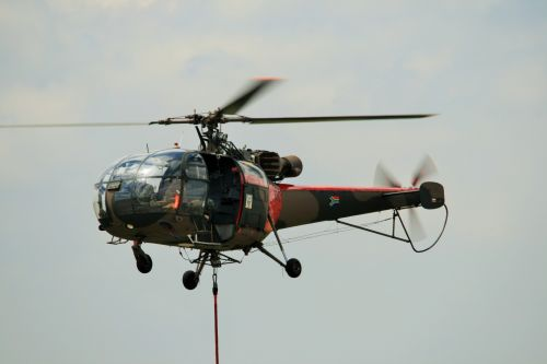 Alouette Iii In A Hover