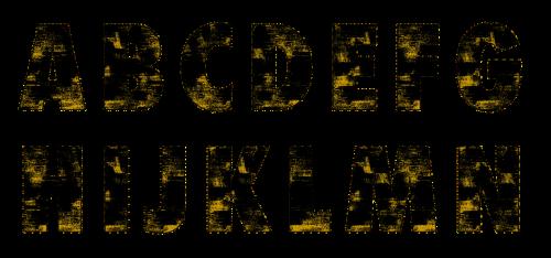 alphabet texture grunge