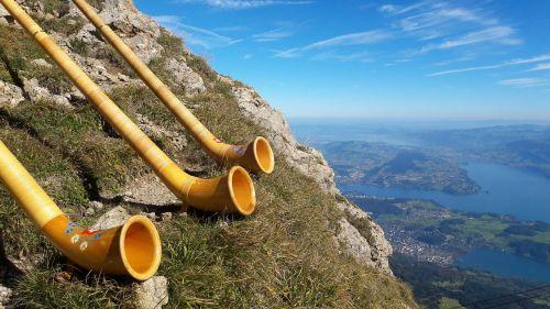 alphorn musical instrument horn