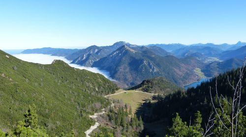 alpine mountains blue