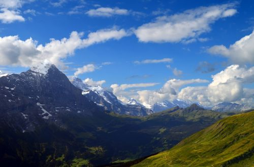 alpine panorama eiger
