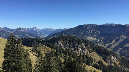 alpine mountains allgäu