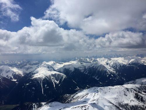 alpine gliding eastern alps