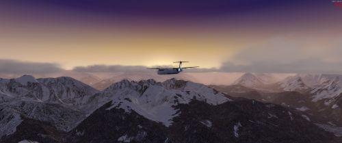 alpine aircraft dash q400