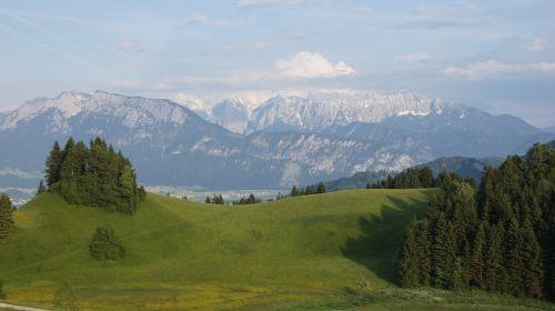 alpine wilderkaiser zahmer kaiser