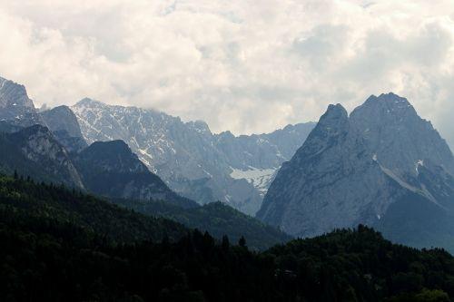 alpine alpine landscape garmisch partenkirchen