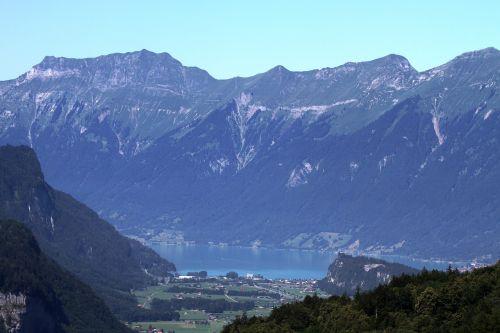 alpine mountains imposing