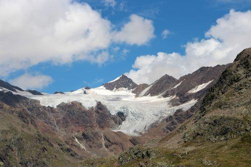 alpine glacier italy