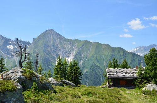 alpine austria mountains