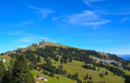 alpine mountains rigi