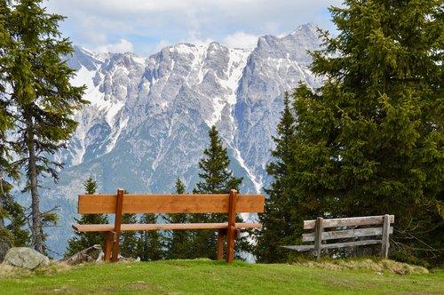 alpine  mountains  landscape